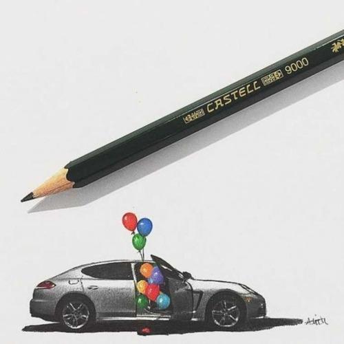 鉛筆やシャーペンで描いた小さいけど凄いクオリティの画像の数々!!の画像(20枚目)