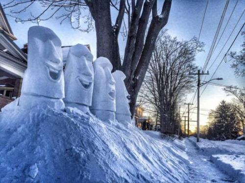 【画像】海外の雪祭りとか色々な雪像がやっぱ海外って感じで面白いwwwの画像(9枚目)