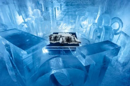 氷でできた極寒のホテルの画像(12枚目)