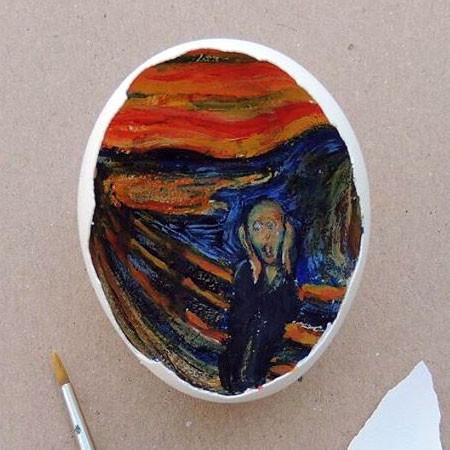 卵の中が別世界!卵の内側に絵を描くアートが面白い!!の画像(4枚目)
