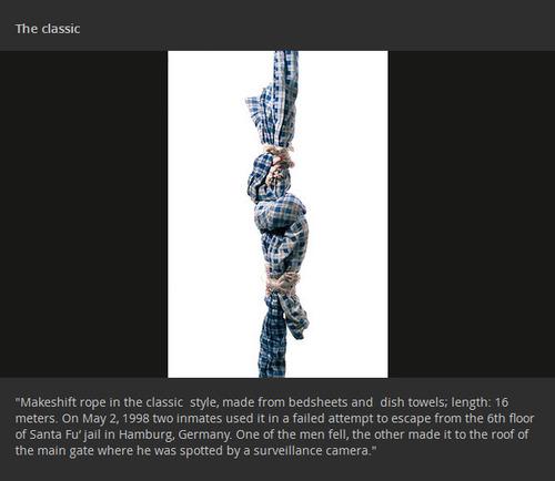 【画像】刑務所の囚人が作った隠し武器やガジェトの数々!!の画像(13枚目)