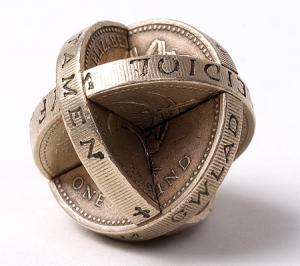 【画像】もったいないけど凄い!コインを使った面白アート!の画像(12枚目)