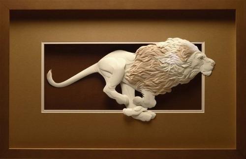 【画像】普通の紙で作る動物のペーパー・カッティング(切り絵)が凄い!!の画像(16枚目)
