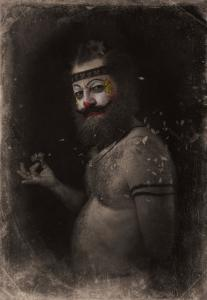 なんの癒しにもならない!超怖いピエロのコスプレ画像の数々の画像(16枚目)