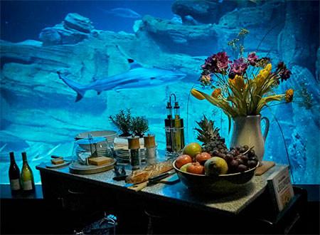 【画像】360度、水に囲まれたお部屋に泊まれるホテルが凄い!!!の画像(7枚目)