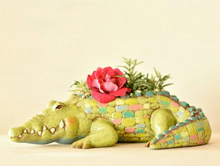 植木鉢で癒される!かわいい動物のプランターの画像の数々!!の画像(7枚目)