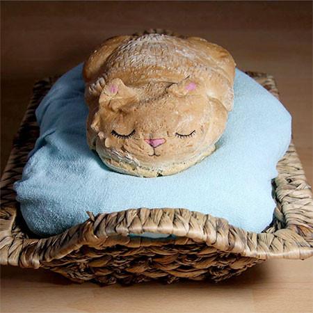 食べるのが可哀そうになる!可愛くてちょっとリアルな動物パンの画像の数々!!の画像(9枚目)