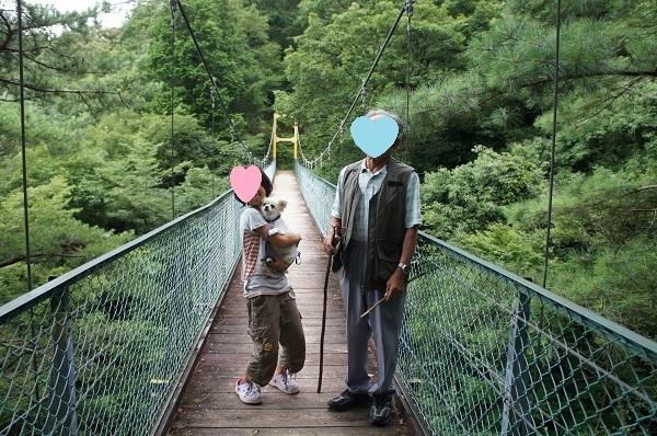 獅子ヶ鼻公園吊り橋