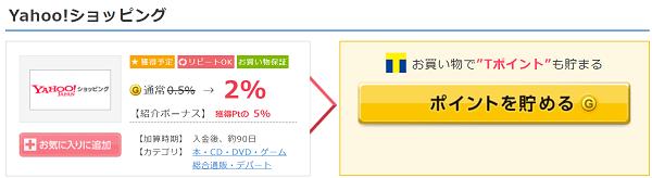 Yahoo!ショッピング案件 GetMoney!