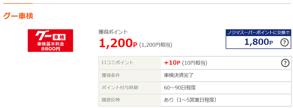 ライフメディア Goo車検(グー車検)案件