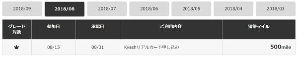 すぐたま Kyash承認