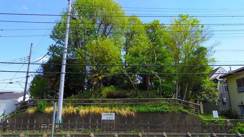 「浅間塚」ー東村山市指定史跡ー