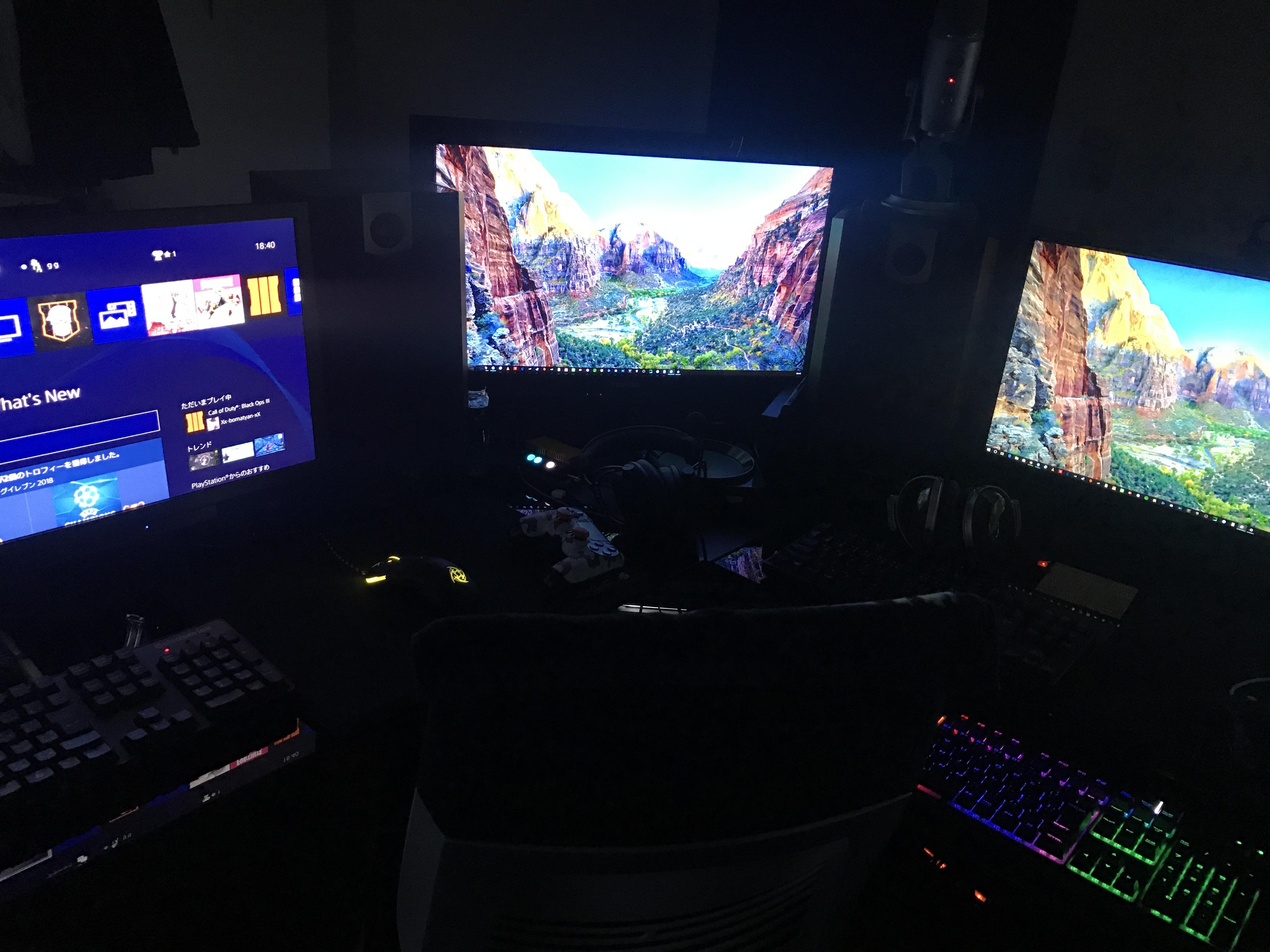 私のゲーム環境紹介