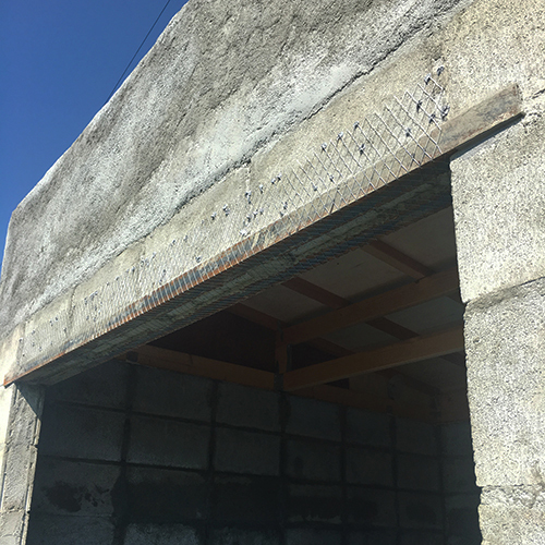 一人で作るブロック小屋⑧ ~モルタル壁塗り左官作業~①