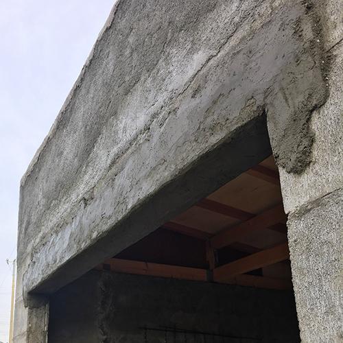一人で作るブロック小屋⑧ ~モルタル壁塗り左官作業~⑦