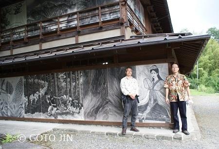 赤沢宿・油障子祭16