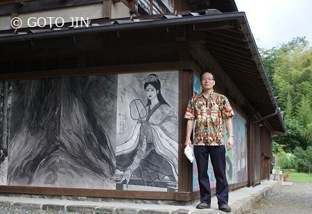 赤沢宿・油障子祭15