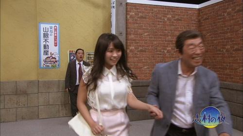 【悲報】おっぱいぷるるん18歳Fカップ大原優乃ちゃん、志村けんに気に入られた模様