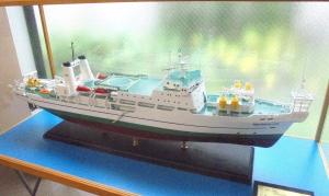 オーシャンリンク号模型