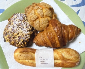 パンとエスプレッソとパン達
