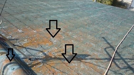 屋根の塗り替え128