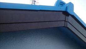 軒天井と波風板の塗装06