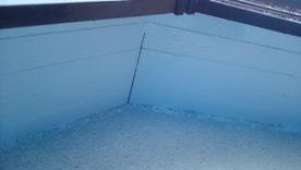 軒天井と波風板の塗装07