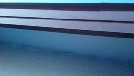 軒天井と波風板の塗装09