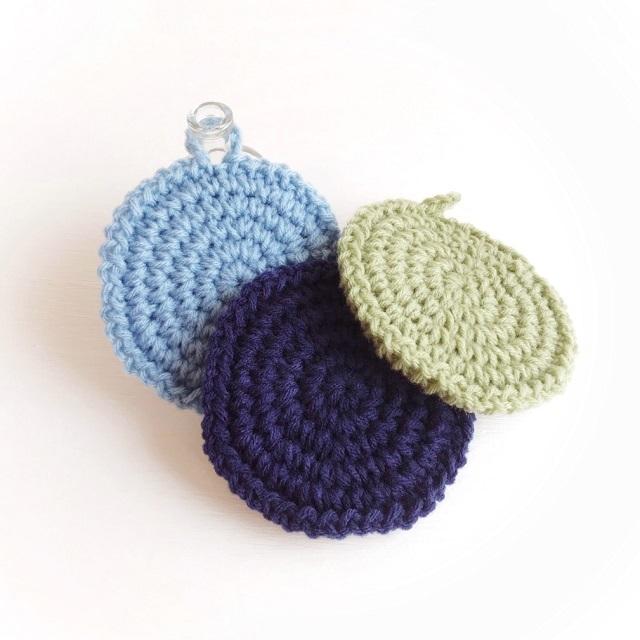 手編み雑貨 ハナハンド アクリルたわし キッチン 洗い物