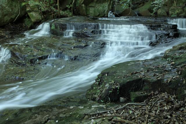 女王滝の上流