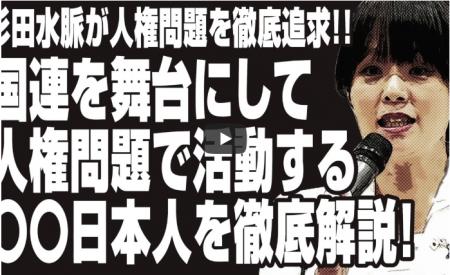FireShot Capture 008 - 【動画】杉田水脈が人権問題を徹底追及!!国連を舞台にして人権問題で活動する〇〇日本人をl