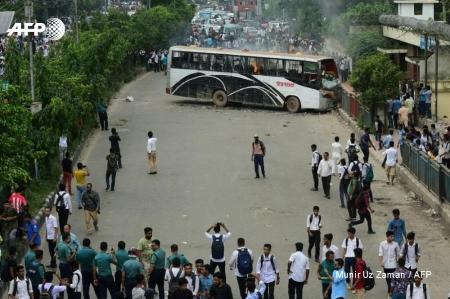 【動画】世界に衝撃!日本では報道されない、バングラデシュで巻き起こった歴史的抗議運動