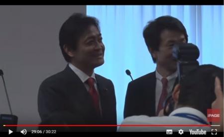 【動画】「国民民主党」結党大会後に新代表が記者会見(2018年5月7日)