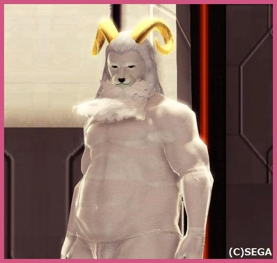 白いクロヤギ
