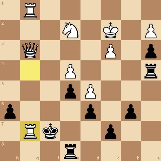 6/6のゲーム2戦目。34手で負け。消費時間9分1秒