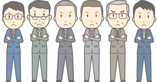 スーツ6人組