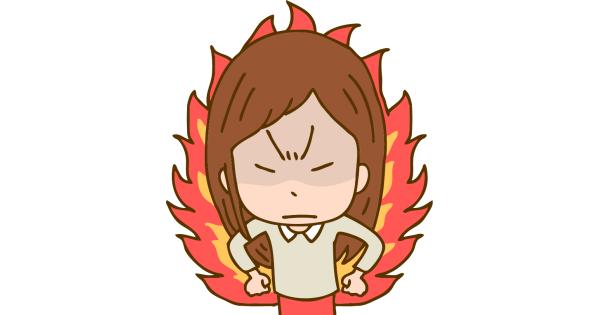 怒りの炎を燃やすいじめっ子のお母さん