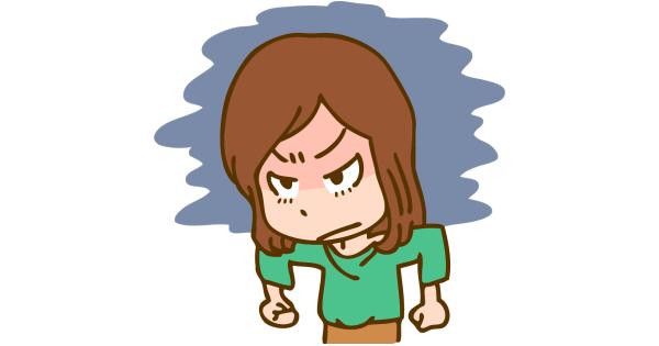 怒気を隠さない、いじめっ子の母親