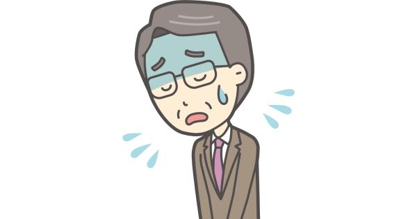 謝罪する校長先生