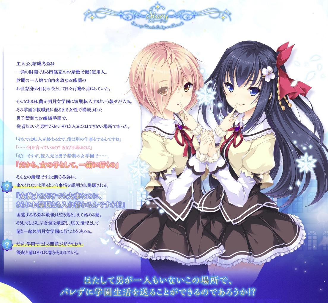 乙女が結ぶ月夜の煌めき 公式サイト STORY1