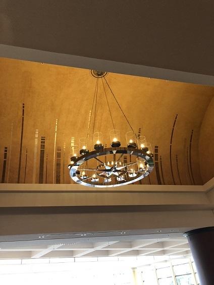 ホテルラウンジ照明