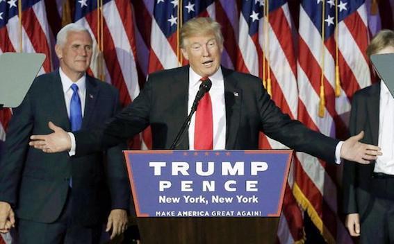 ドナルド・トランプ氏 第45代大統領当選