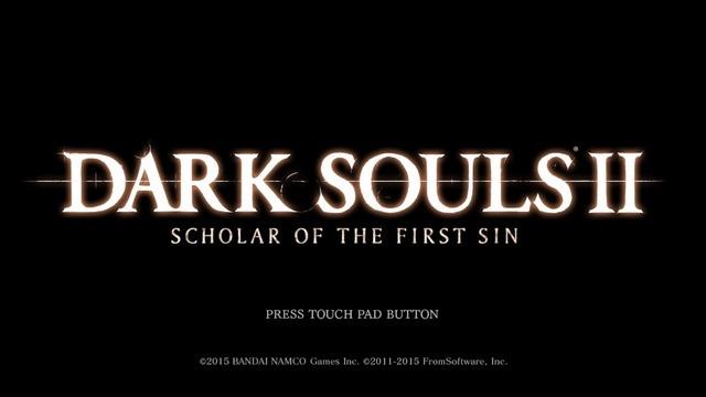 1-DARK SOULS Ⅱ SCHOLAR OF THE FIRST SIN_20180905232317