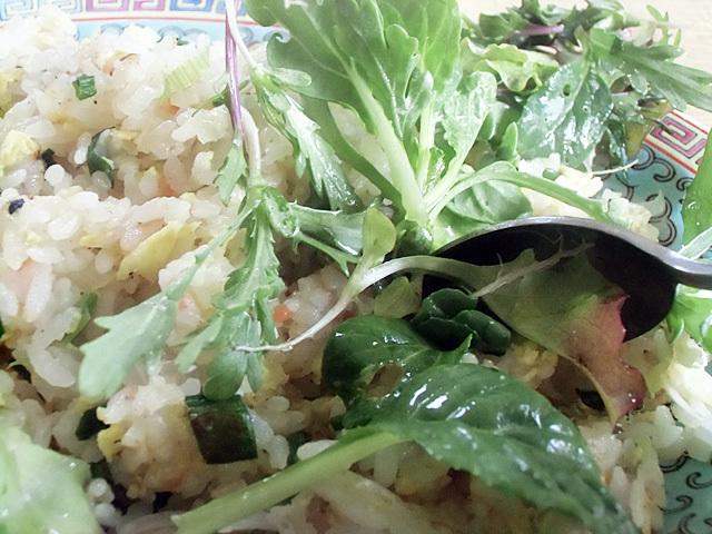 野菜を混ぜ込む