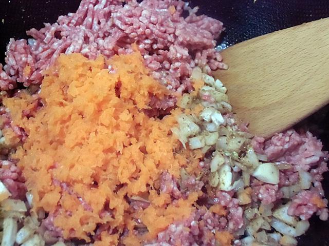 肉と野菜合流
