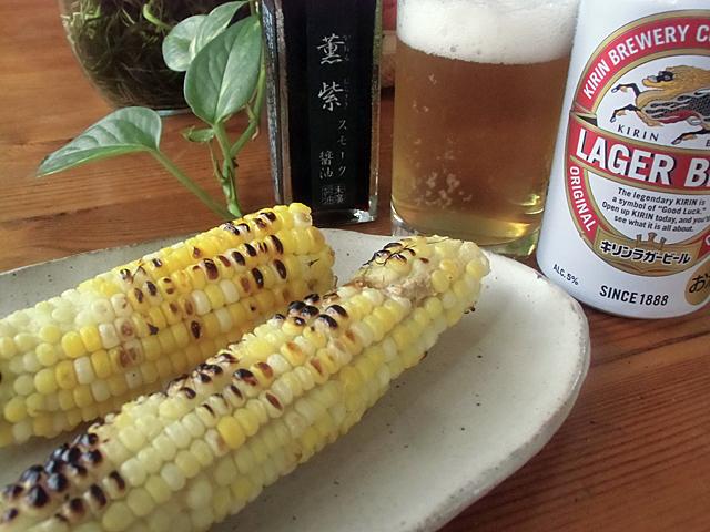 トウモロコシでビール