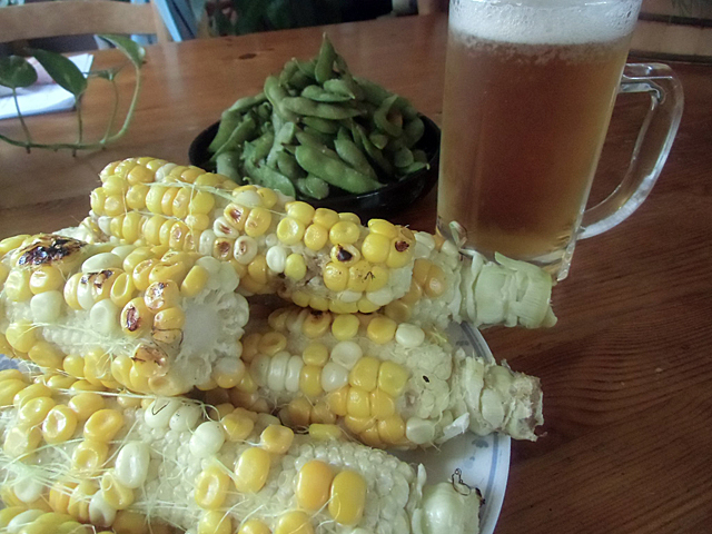モロコシとビール