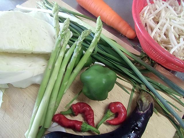 色々の野菜