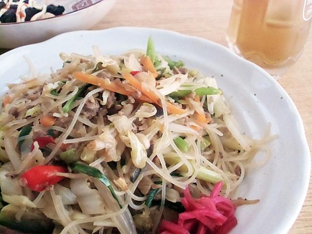 野菜ビーフン