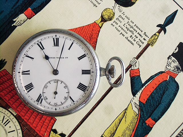 26-TAVANNES懐中時計